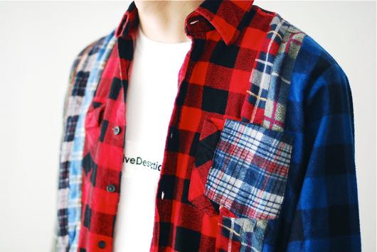 Rebuild by Needles _7 Cuts Flannel Shirt_20160821_002.jpg